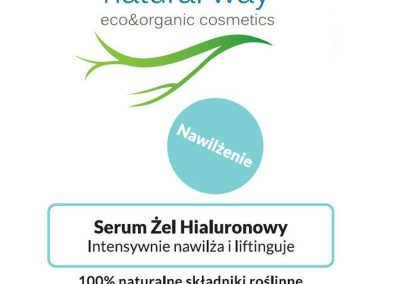 Serum żel hialuronowy - Natural Way 2