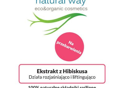 Ekstrakt z hibiskusa - Natural Way 2