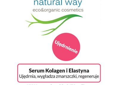 Serum kolagen i elastyna - Natural Way 2
